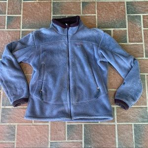 Patagonia Polartec fuzzy fleece jacket